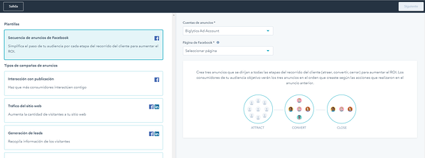 Software de publicidad con workflows para seguimiento de leads automatizados