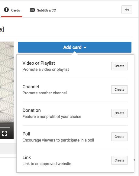 como organizar videos youtube
