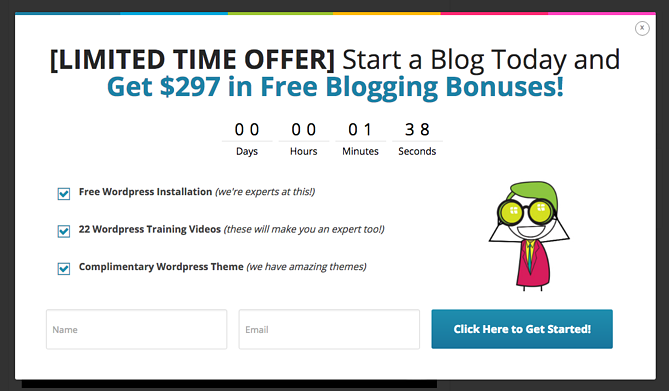 Call to action de Blogging