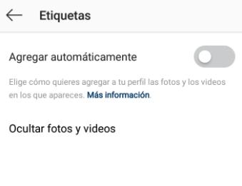 como aprobar etiquetas instagram