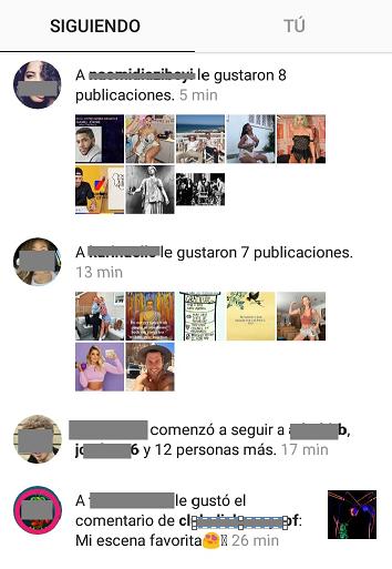 como ver la actividad de otra persona instagram