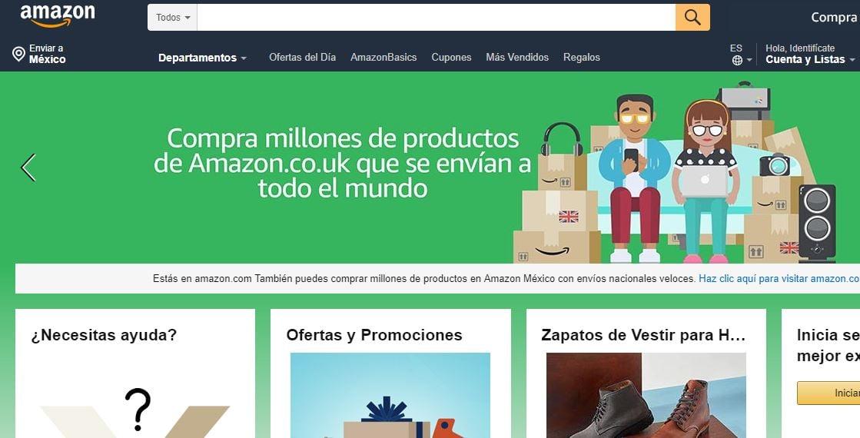 ejemplo de estrategia de desarrollo de mercado: amazon