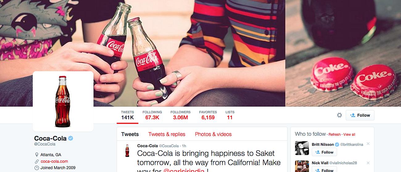 ejemplo coca cola branding consistencia