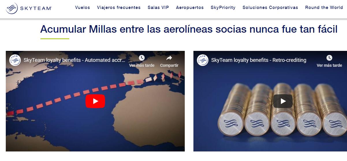 ejemplos de estrategias de venta aerolíneas programas de fidelidad