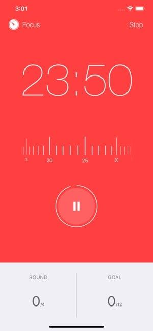 focus keeper, aplicaciones para ayudarte con la técnica Pomodoro