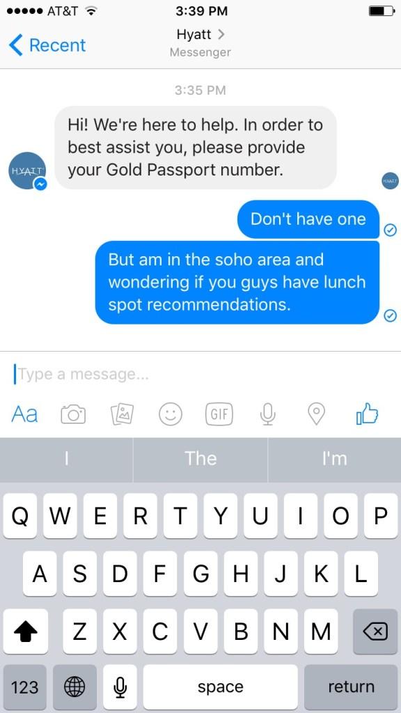 Hyatt-Facebook-Messenger