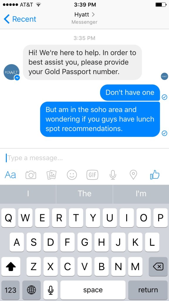 Hyatt-Facebook-Messenger