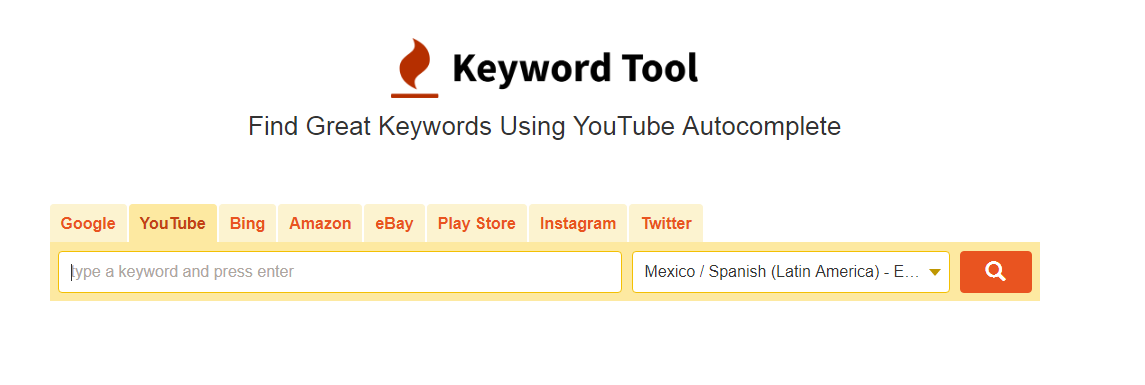 keyword tool generadores tags youtub