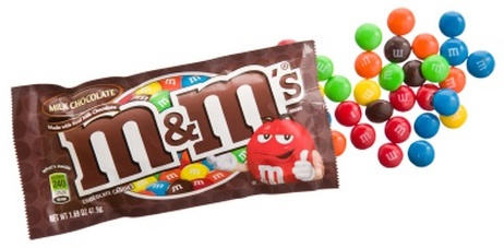 Eslogan de M&M