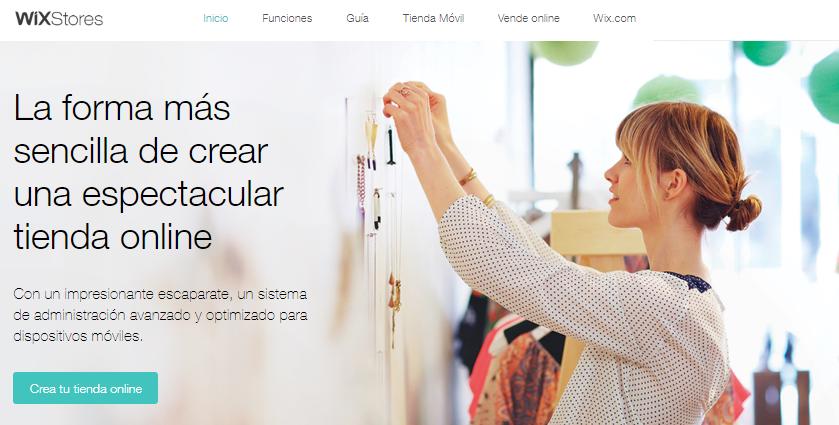 plataforma comercio electrónico wix