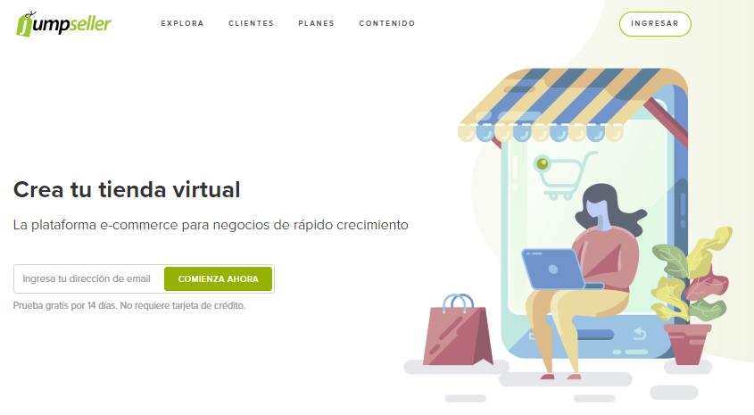 plataforma de comercio electrónico jumpseller