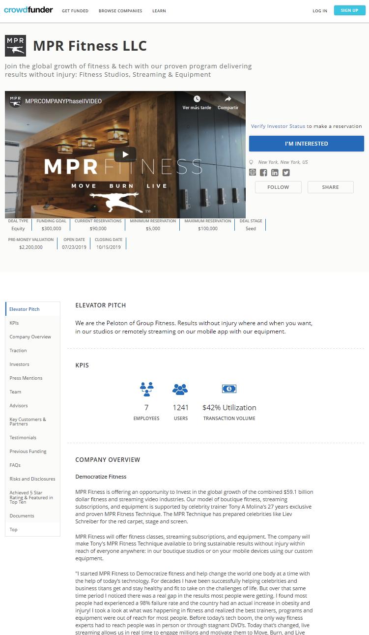 plataformas de crowdfunding- crowdfunder