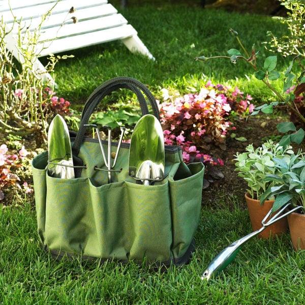regalos navideños para vendedores set de jardinería