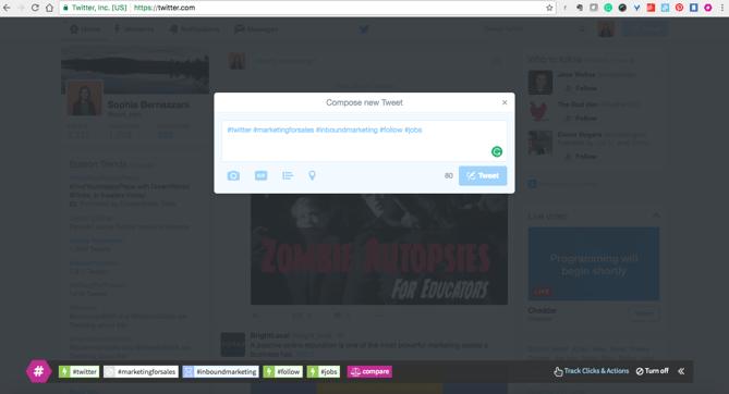 extension de Chrome RiteTag