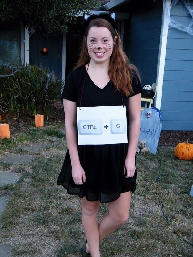 Copycat office halloween costume