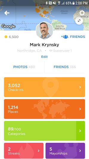 Profile page app Swarm 5.0