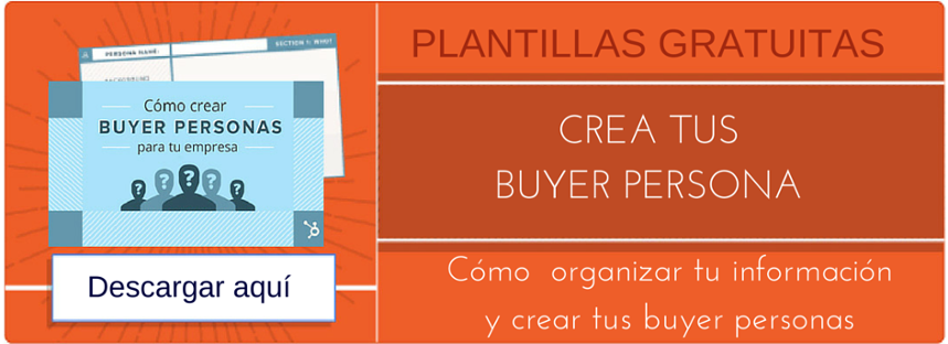Buyer Personas Plantillas