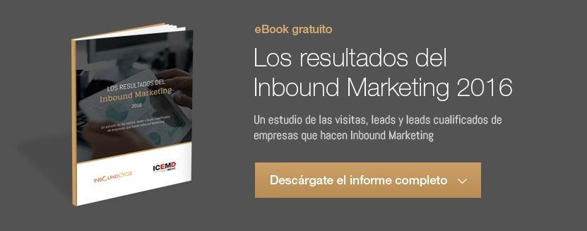 Los resultados del Inbound Marketing 2016