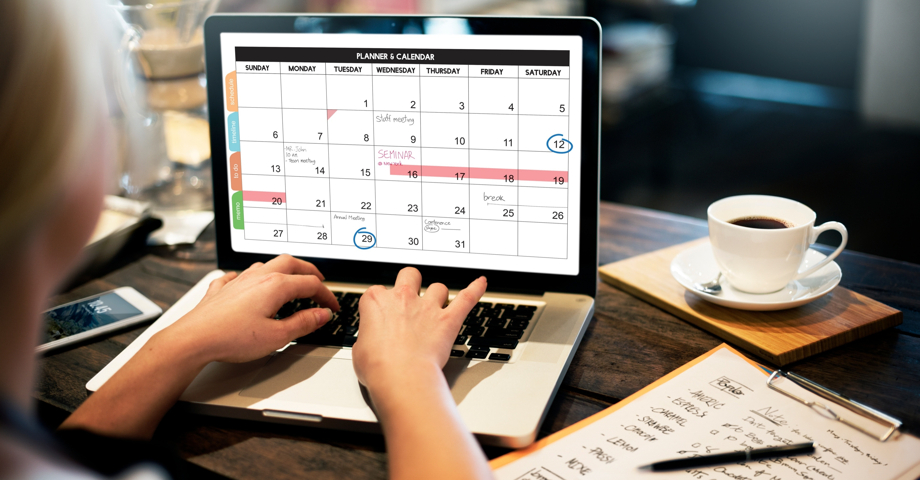 Cómo crear un calendario editorial para tu blog [Plantillas Gratis]
