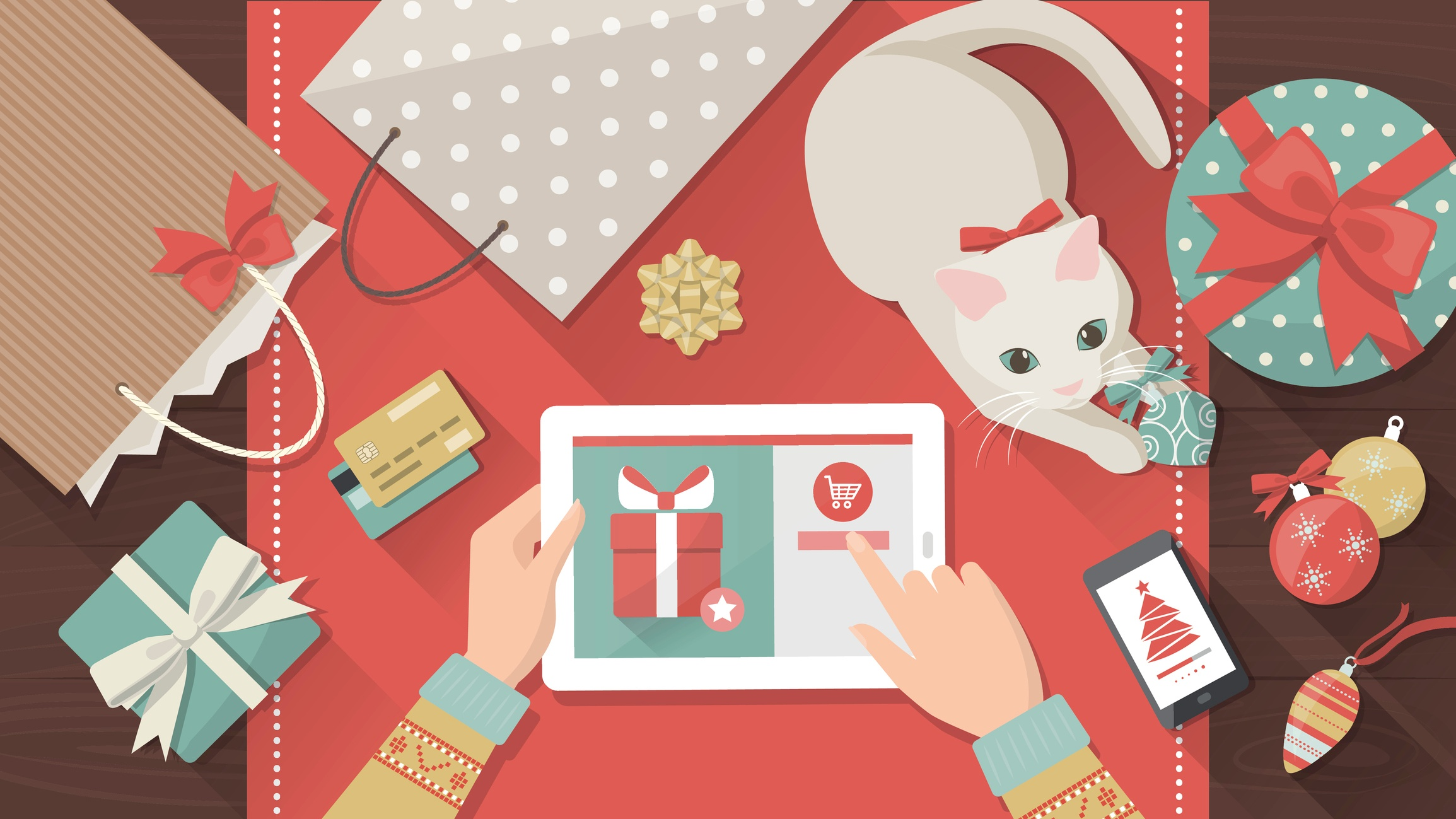 17 Maneras de preparar tu página web para las compras navideñas
