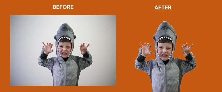 Cómo borrar el fondo de una foto en Photoshop o PowerPoint [Ejemplo]