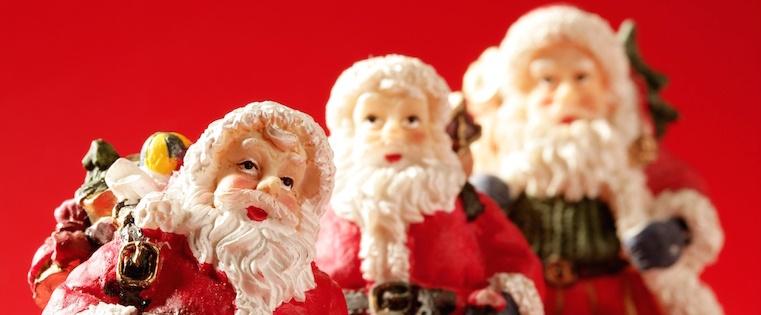 La evolución de Santa Claus en la publicidad a través de los años