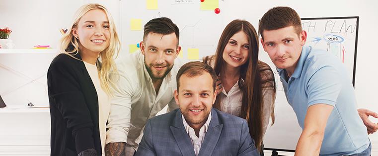 13ideas asombrosamente creativas para presentar a tu equipo en tu sitio web