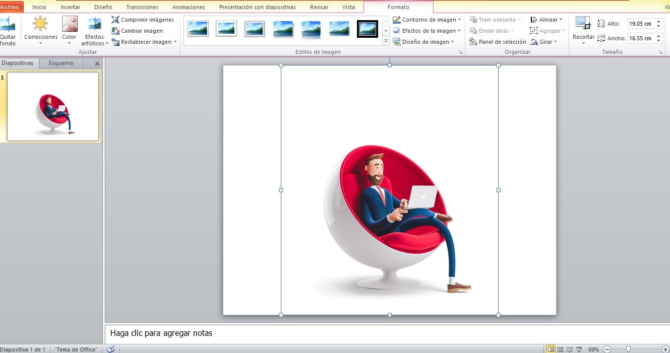 Cómo quitar el fondo a una imagen gratis con PowerPoint