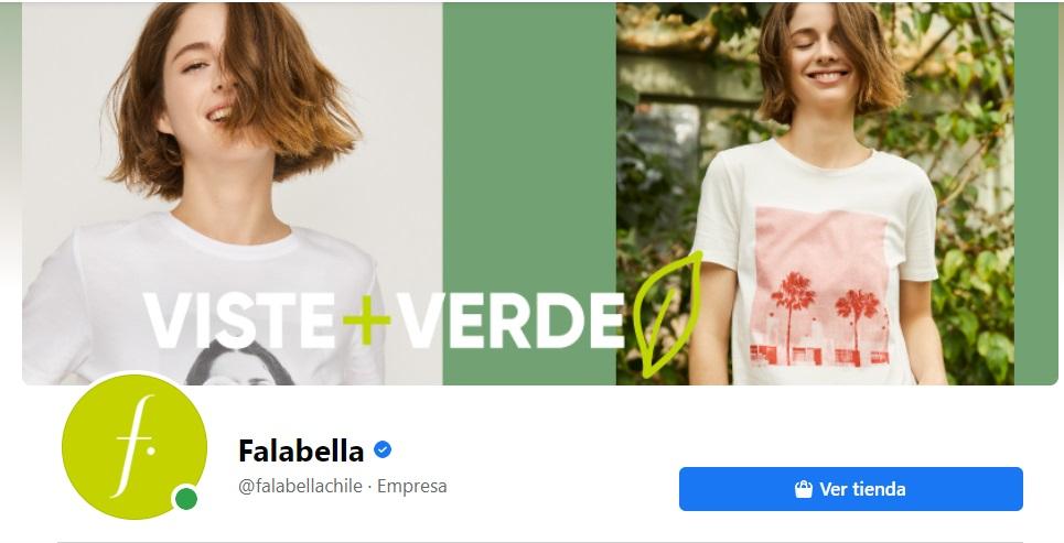 Ideas para portadas de Facebook: Falabella