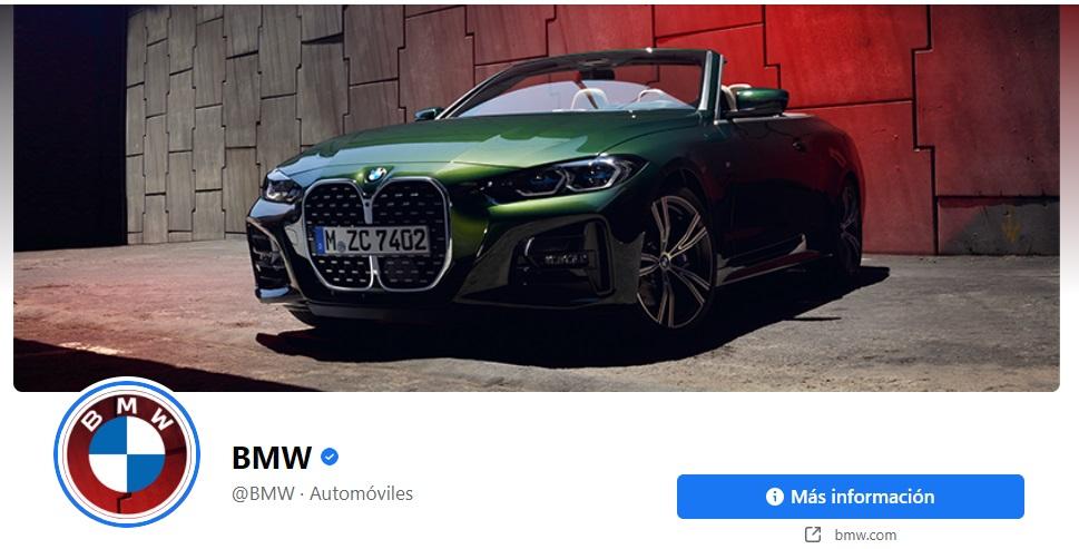 Publicidad en portada de Facebook de Audi
