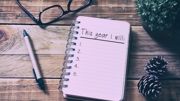 11 Propósitos comunes que deberías continuar hasta final de año