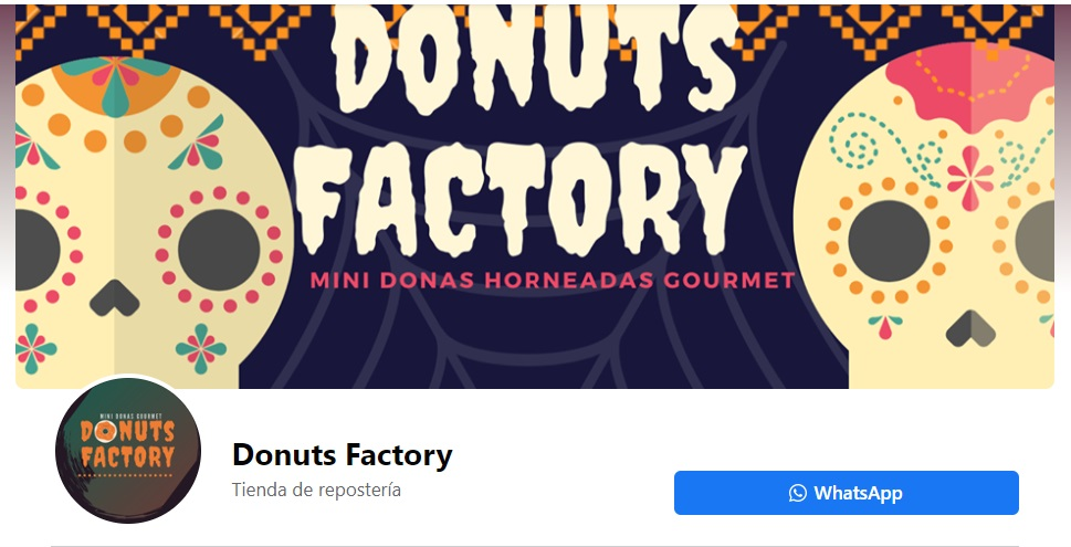 Portadas para Facebook para temporada de Donuts Factory