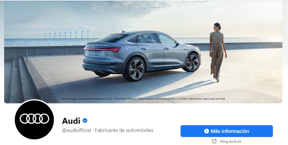 Portadas para Facebook elegante de Audi