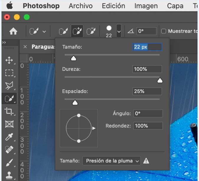 usa Photoshop para quitar el fondo de una imagen