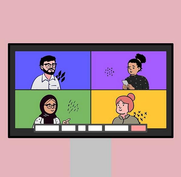 Ejemplo de la agencia creativa ustwo en Instagram