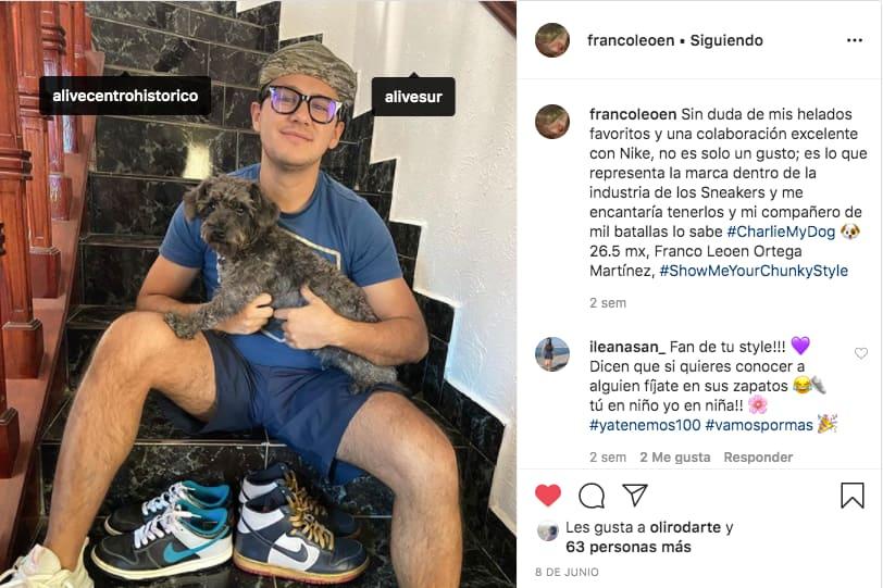 Marketing en Instagram: ejemplo de publicación de @alive