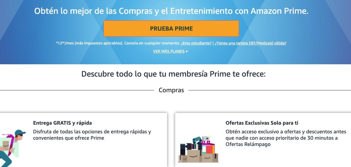 Amazon Prime, programa de fidelización de clientes de Amazon