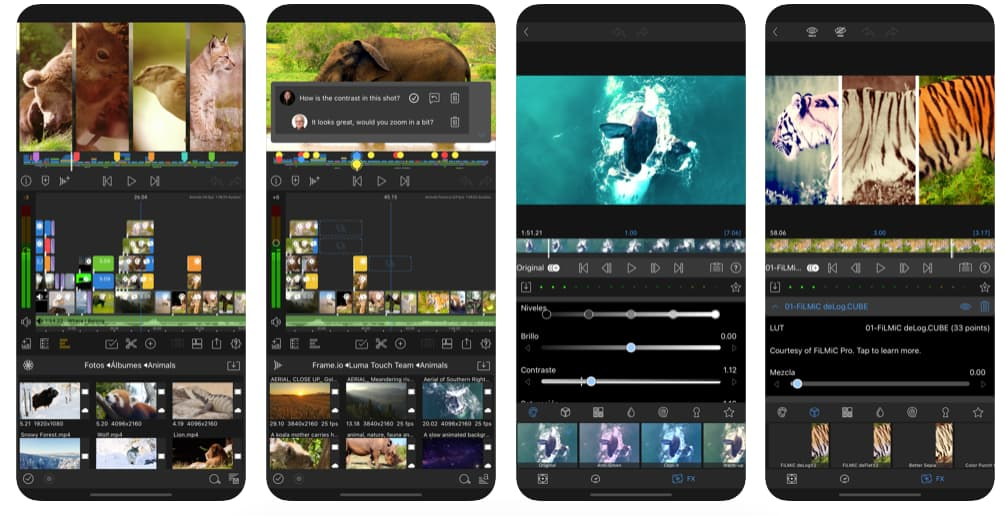 Editor de video online: LumaFusion