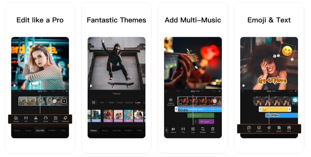 App de edición de video gratis:VivaVideos