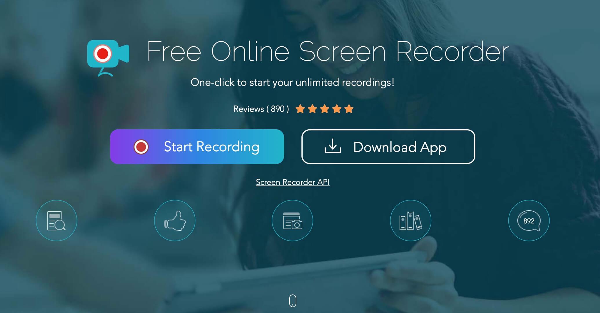 Grabar pantalla con Apowersoft, programa de grabación online