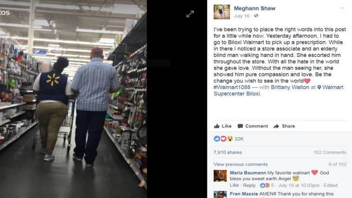 Buena atención al cliente de Walmart