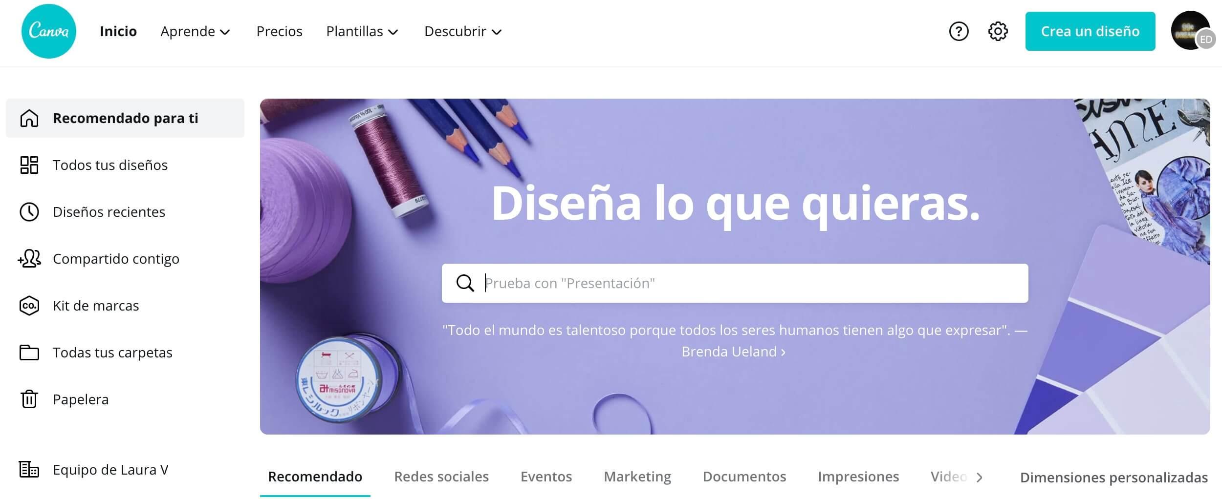Canva: herramienta de diseño para crear publicidad digital