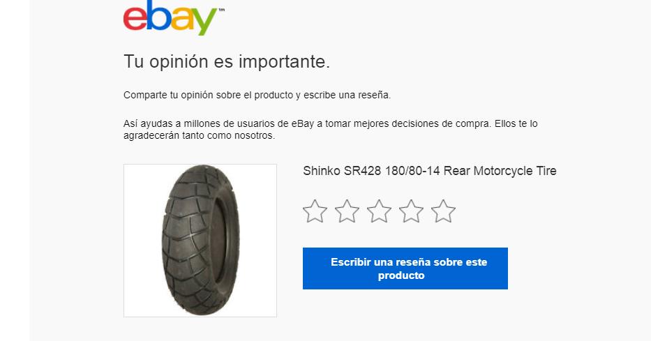 Cómo obtener reseñas positivas: eBay