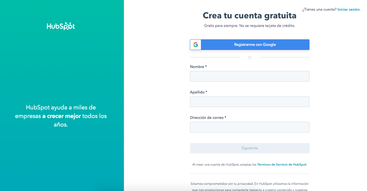 Cómo utilizar el creador gratuito de formularios: crea tu cuenta