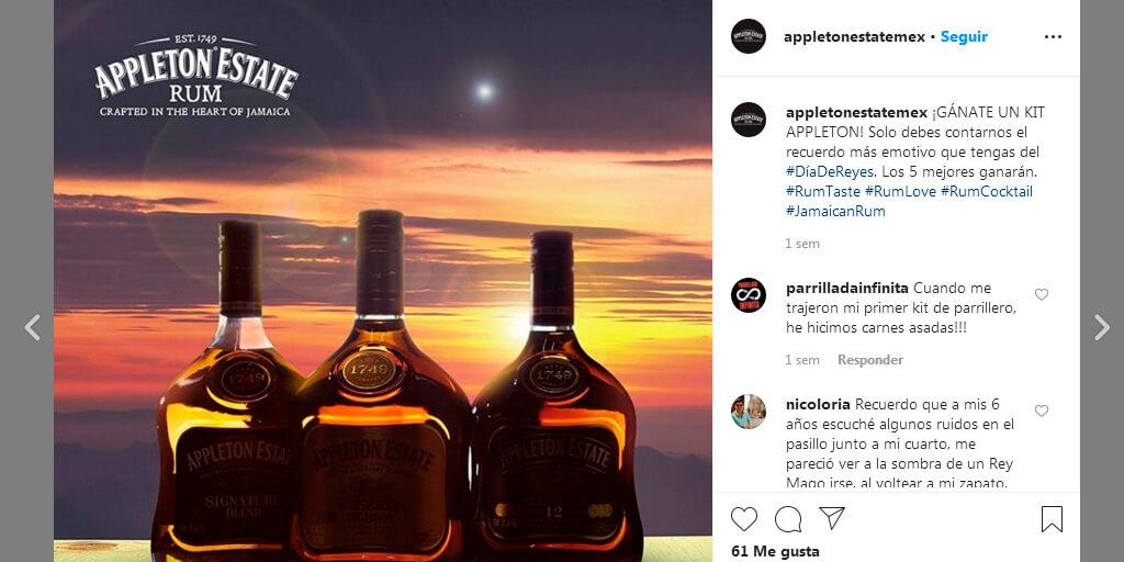 Concurso de Appleton en Instagram