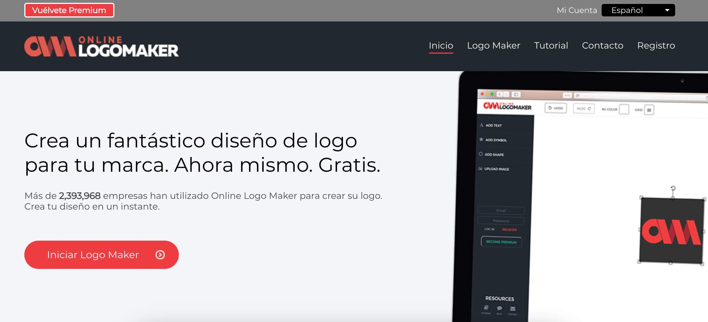 Creador de logos gratis Online Logo Maker