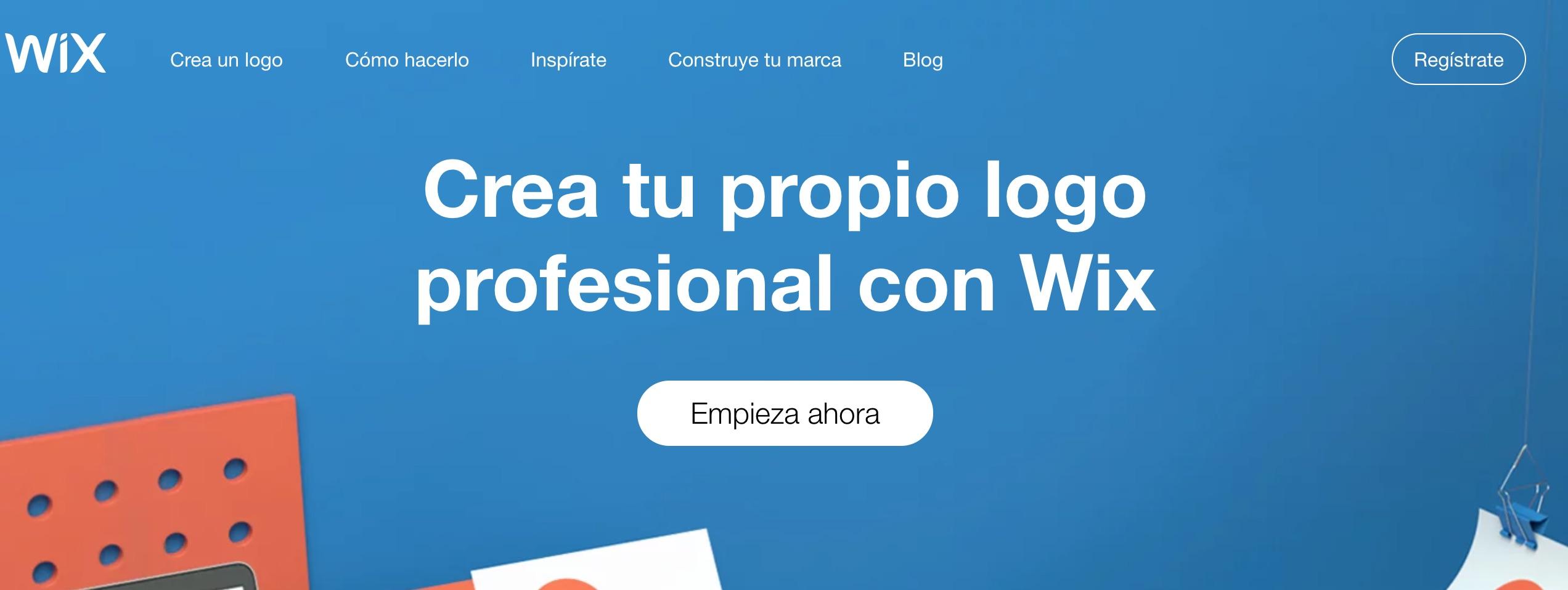 Creador de logos de Wix