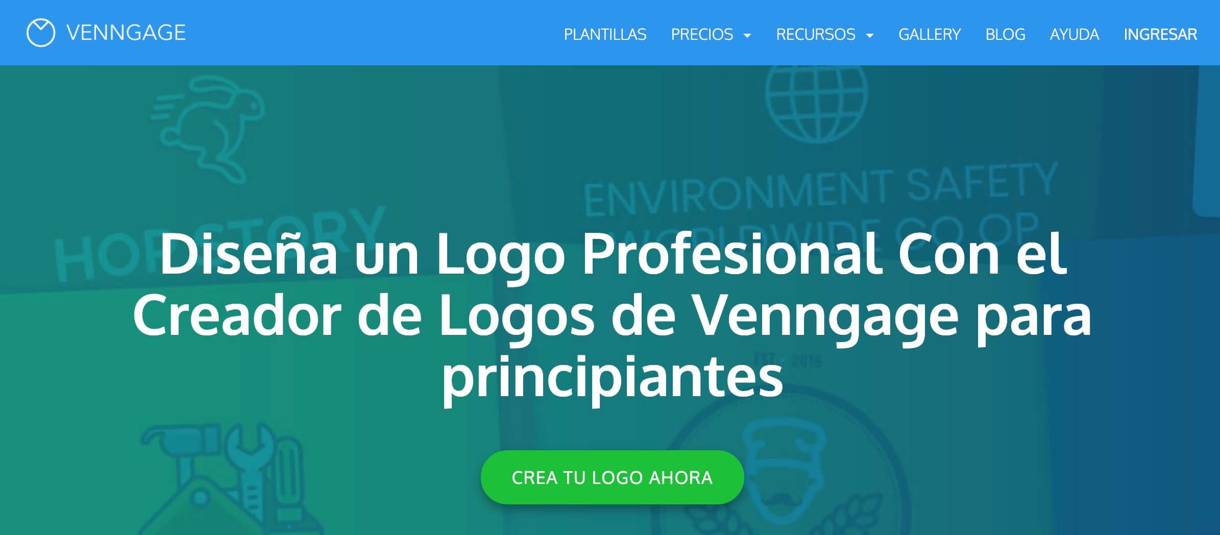 Venngage, creador de logotipos