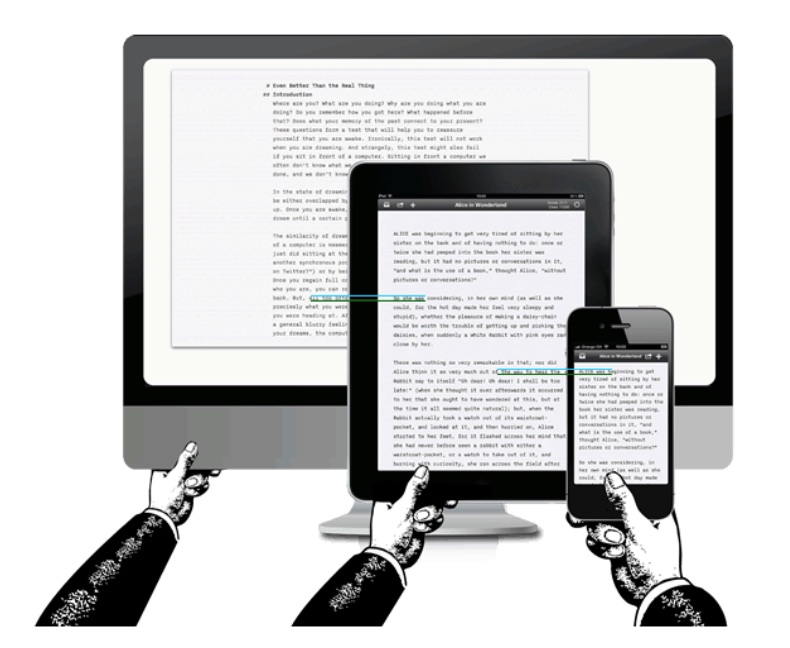 Textos en diseño responsive