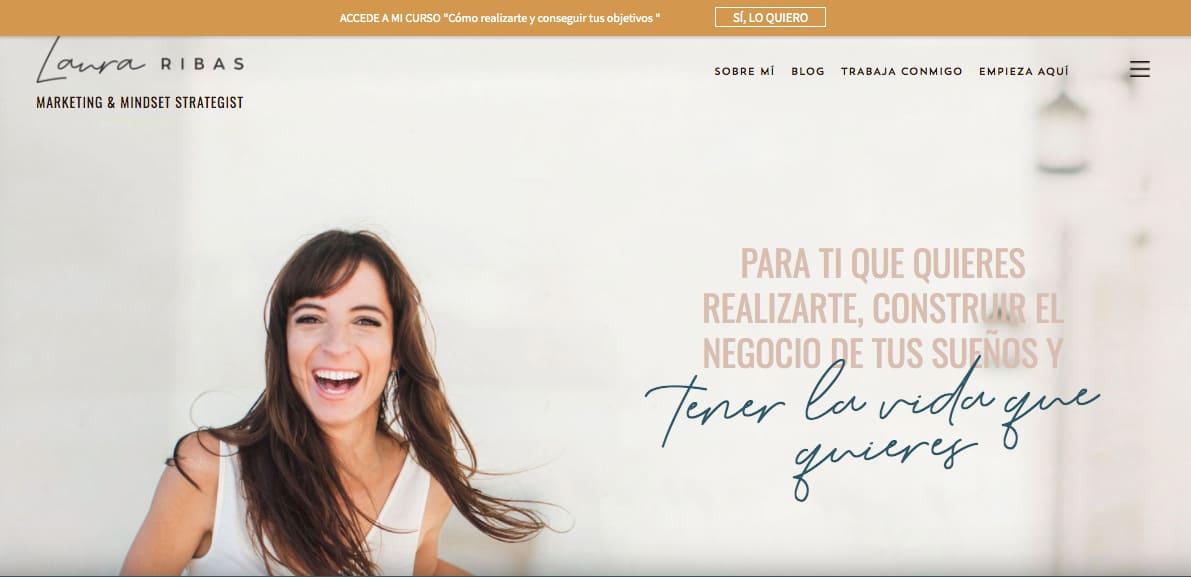 Ejemplo de marketing B2B: Laura Ribas